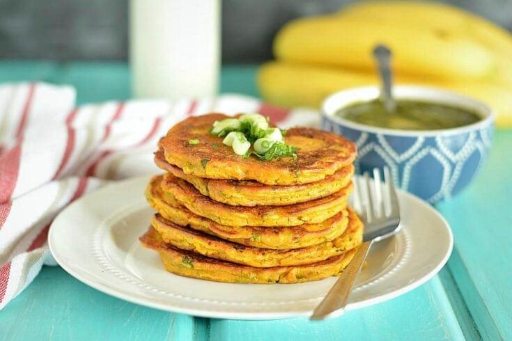 Savory Pumpkin Pancakes, healthy veggie Pumpkin Pancakes
