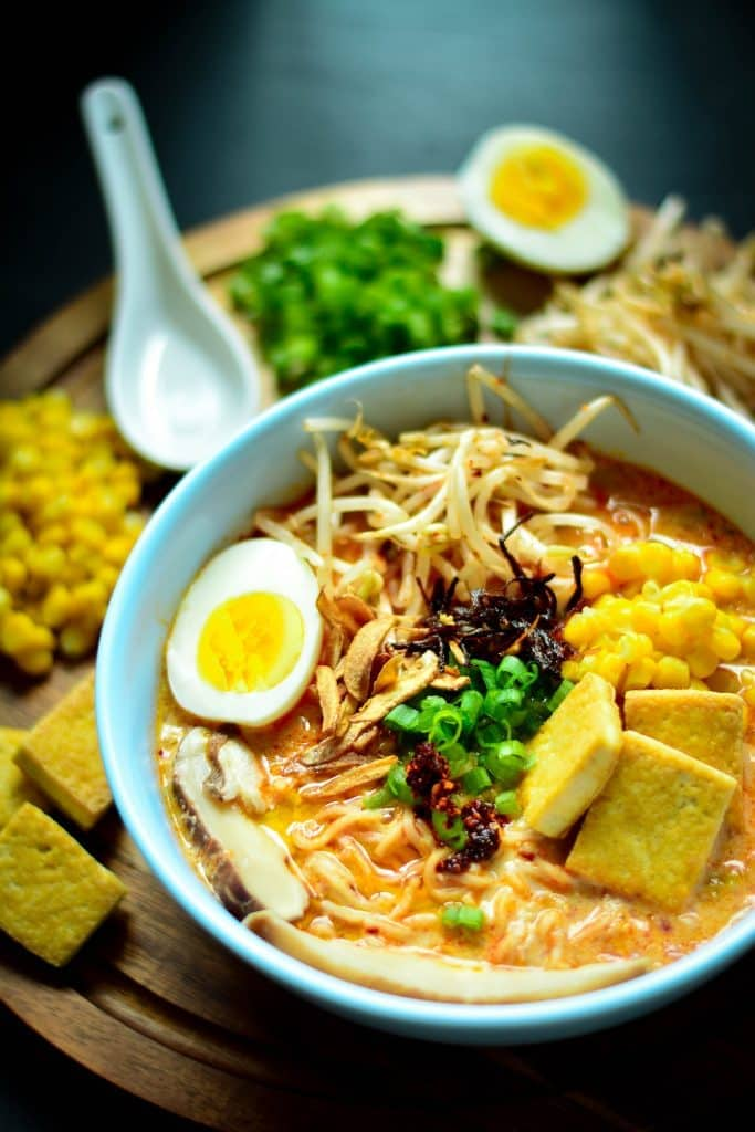 Vegan Spicy Ramen Noodles