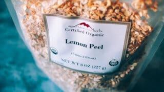 Mountain Rose Herbs: Lemon Peel