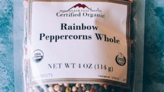 Mountain Rose Herbs: Peppercorn, Rainbow
