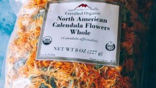 Calendula Flowers Whole, North American