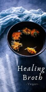 pinterest pin image for healing broth