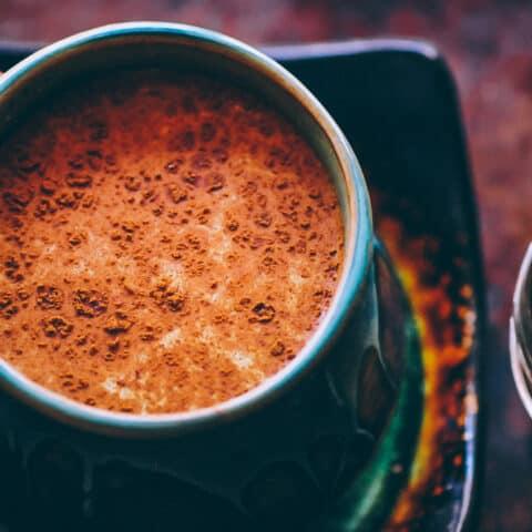 Spicy Golden Milk Recipe (Turmeric Tea) + 20 Health Benefits