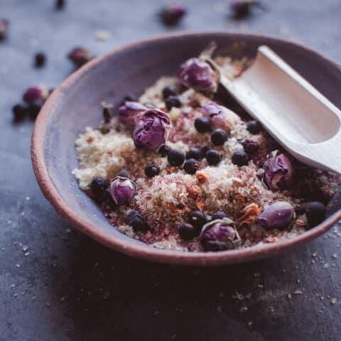 DIY Fizzy Bath Salts Recipe