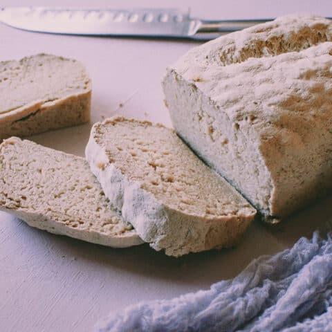 Gluten-Free Vegan Sandwich Bread Recipe (Yeast-Free, Nut-Free, Oil-Free)