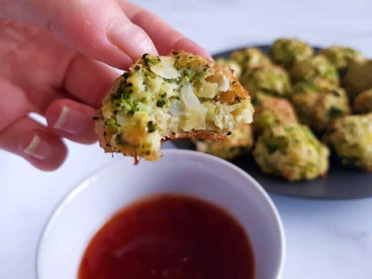 Broccoli and cheese balls