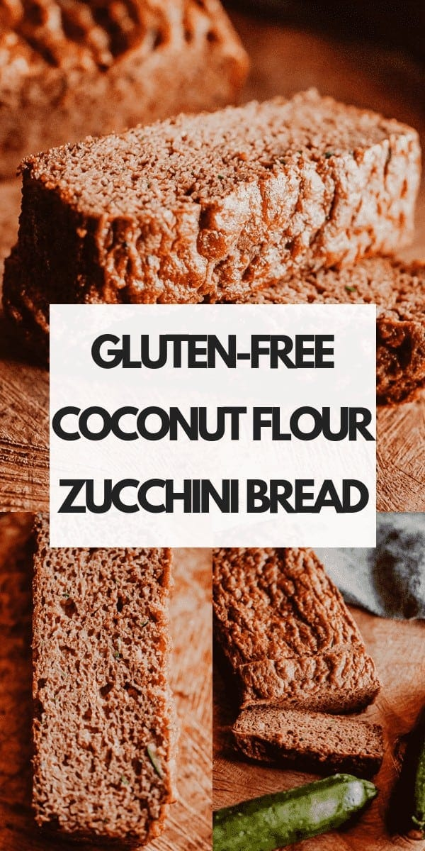 This easy Gluten-Free Zucchini Bread recipe is perfectly moist, fluffy and flavorful! This delicious and healthy bread made with coconut flour is gluten-free, dairy-free, soy-free, nut-free, refined sugar-free and slices like a dream!
