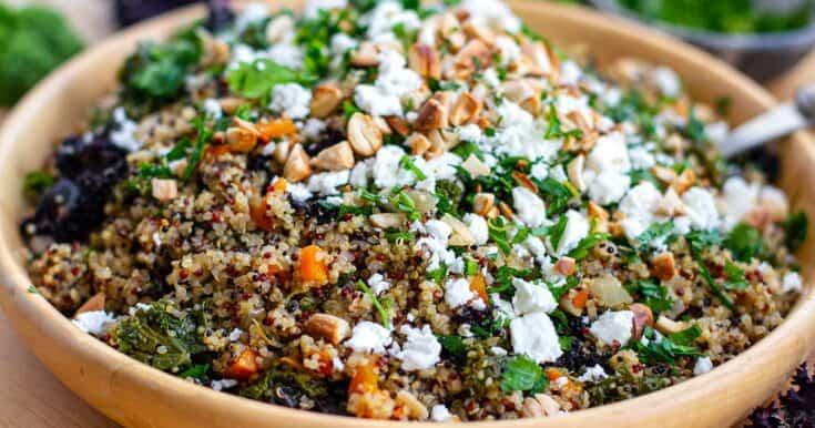 Instant Pot Kale & Quinoa Pilaf