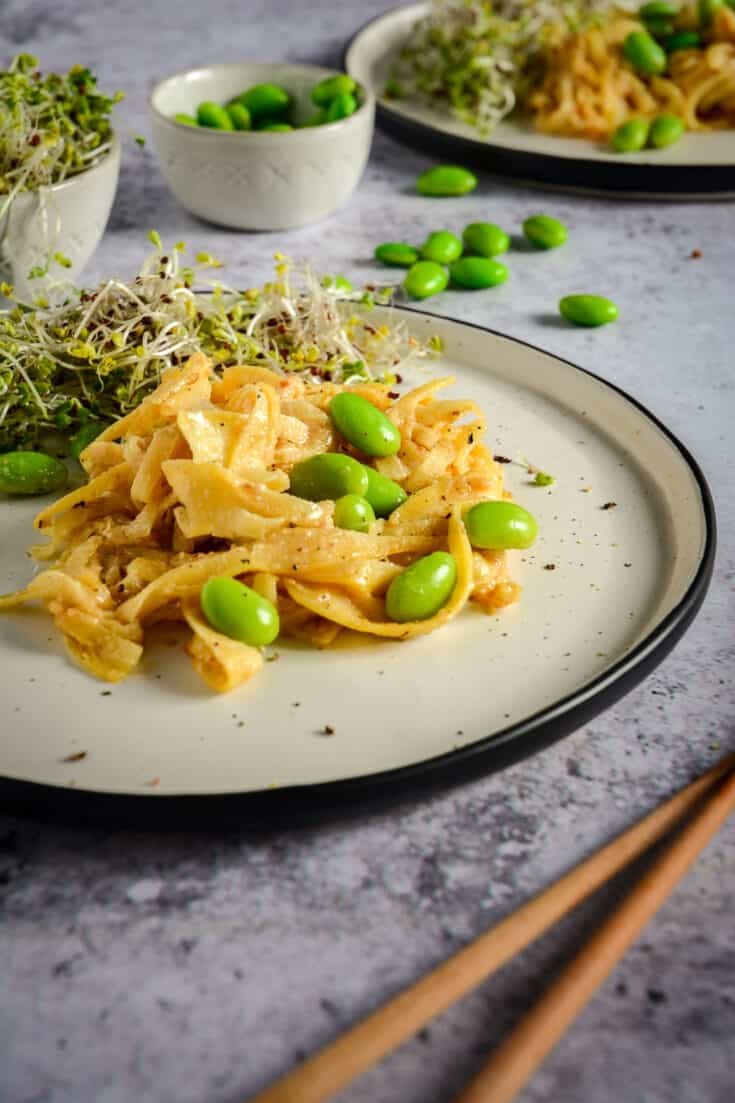 "Paleo ""Peanut"" Noodles (Vegan, Grain-Free)"