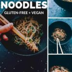pinterest pin for sesame noodles