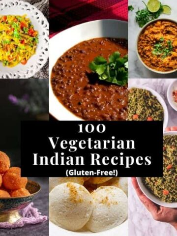 a six image grid for indian food recipes