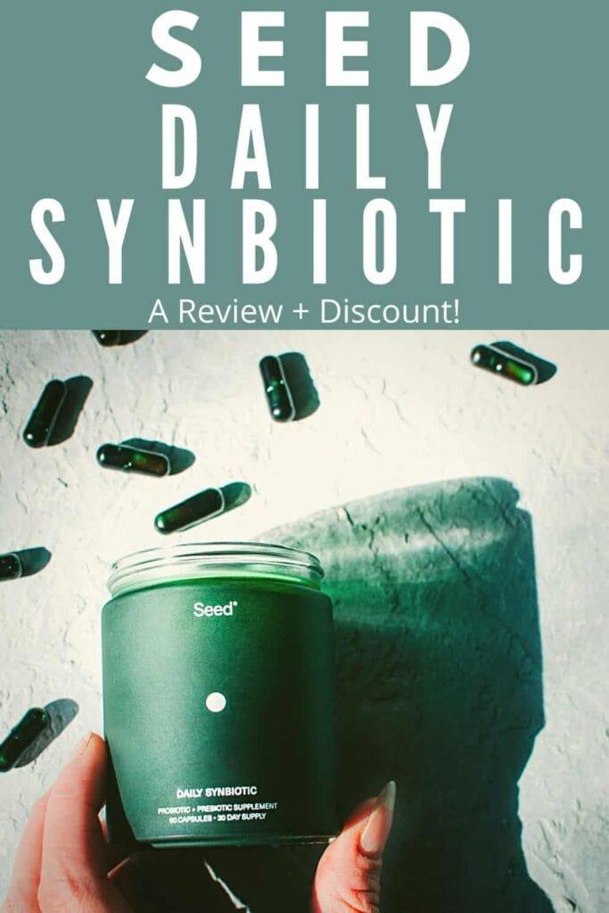 seed daily synbiotic supplement prebiotic probiotic capsules