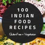 a pinterest pin for indian food recipes