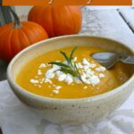 Instant Pot Rosemary Sage Pumpkin Soup 2