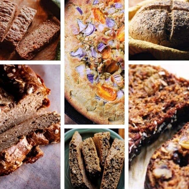 a six image bread of bread recipes