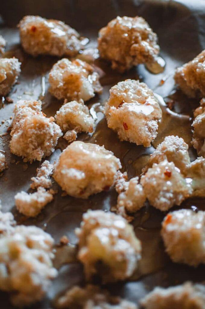 habanero honey cauliflower bites 4