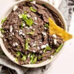 healthy vegan instant pot refried beans recipe 12
