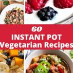 a pinterest pin for vegetarian recipes