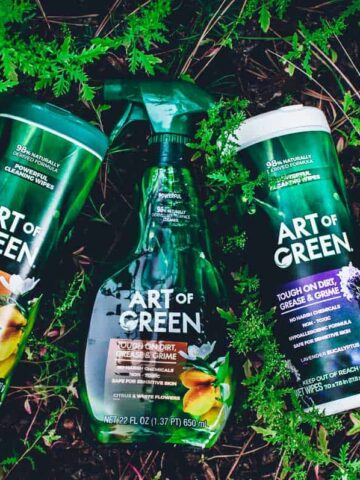 art of green product review
