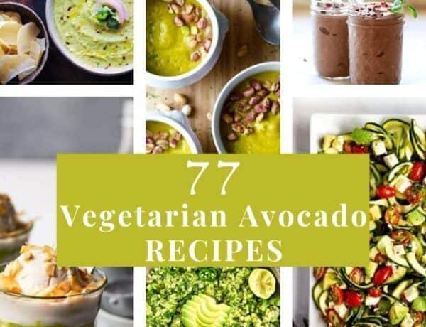 avocado recipes six image grid