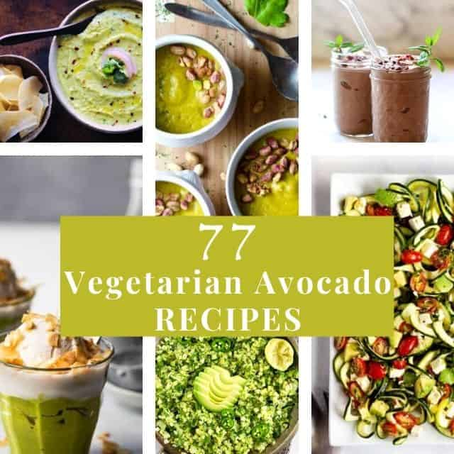 avocado recipes six image grid