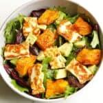 pumpkin and haloumi salad 4 1
