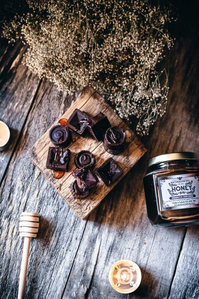 naturacentric honey and chocolates