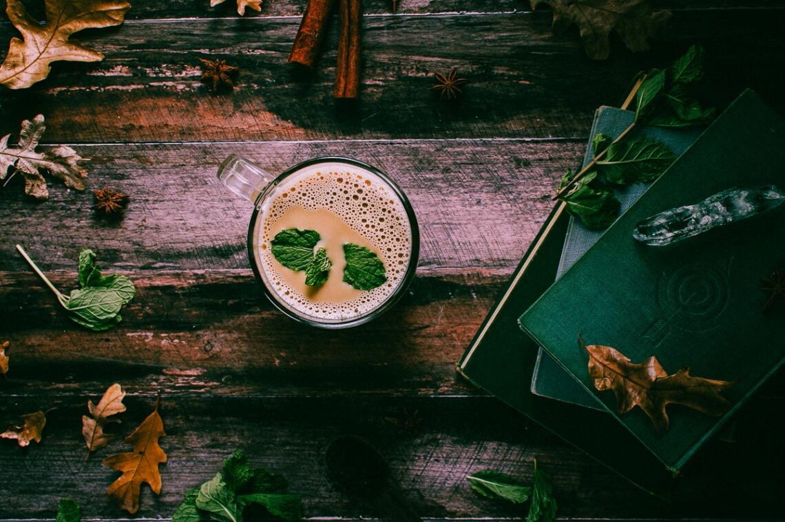 peppermint chai latte 4