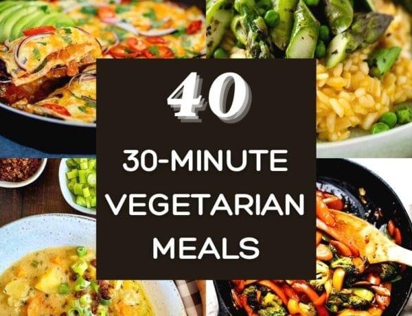 30 minute vegetarian meals