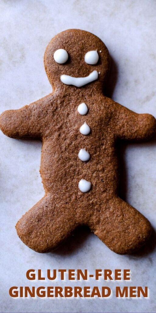 a pinterest pin for gingerbread men
