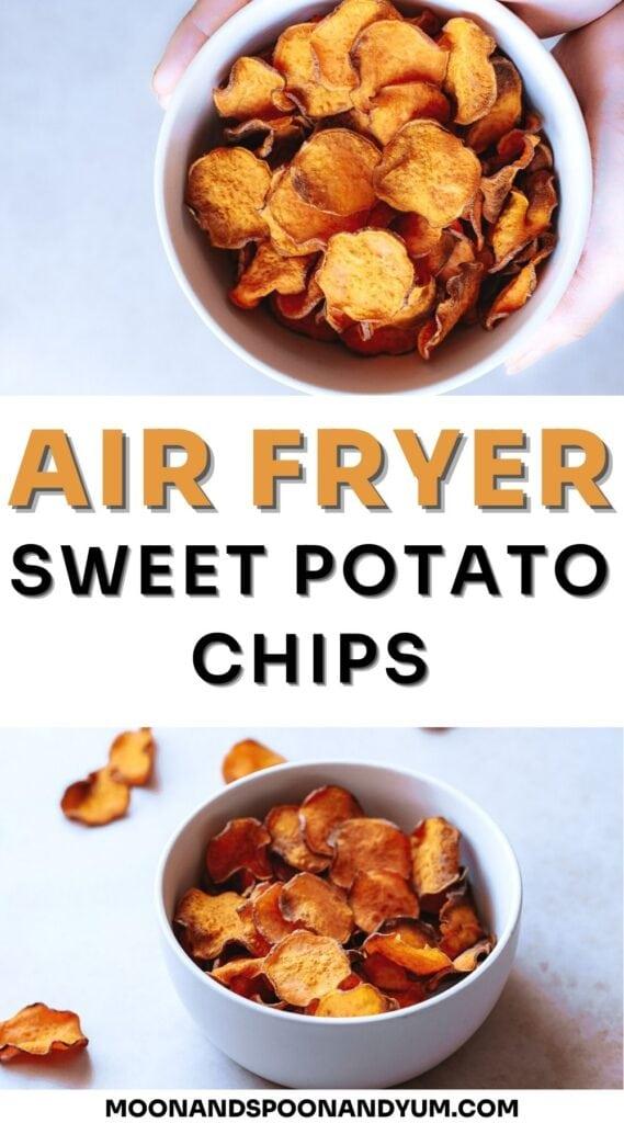 air fryer sweet potato chips (2)