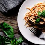 Creamy Tomato Basil Pasta (Vegan, Gluten-Free)
