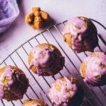 lemon lavender honey cakes