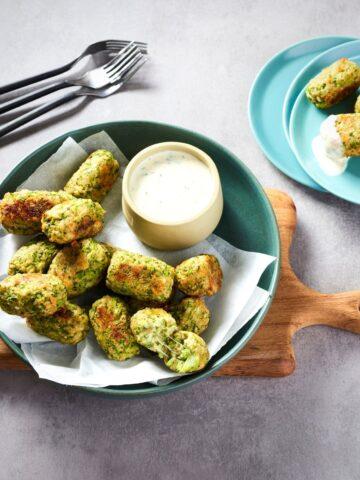 Baked Broccoli Tots (Gluten-Free)