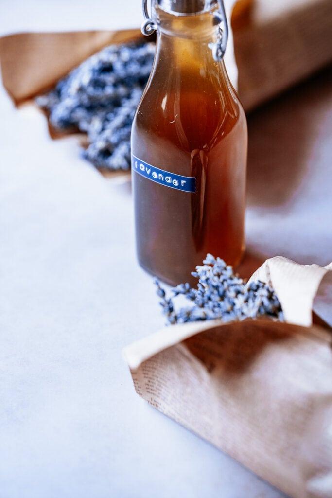 diy lavender syrup recipe
