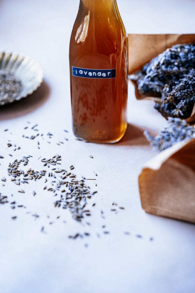 how to make lavender simple syrup recipe